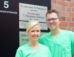 Dr. Petrasevic und Dr. Petrasevic-Einhaus by Chris Kubisch | www.kubisch-design.de
